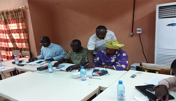 Atelier de formation du personnel technique de ICDMali et VSFB sur le dispositif ODK Collect